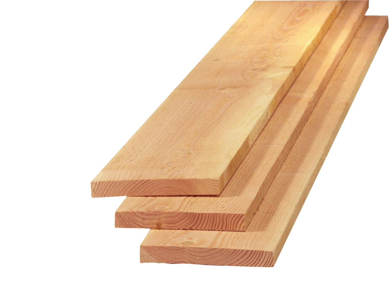 14. Planken 22x150x3000 4000 5000mm onbehandeld fijnbezaagd