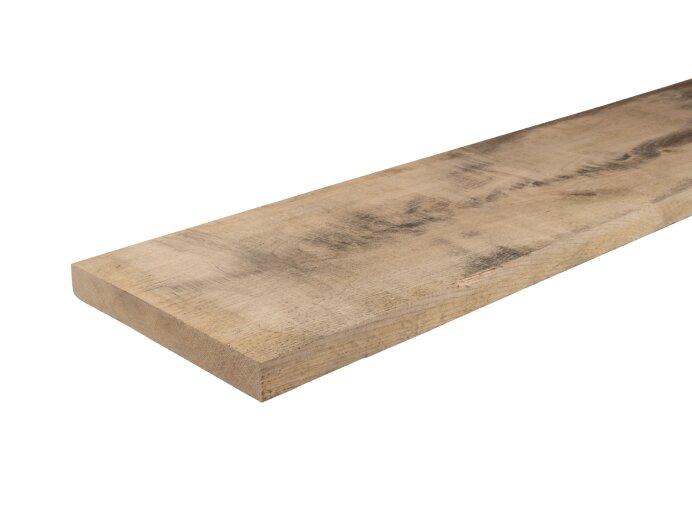 Eiken Hout Plank 25x200mm Bezaagd 2