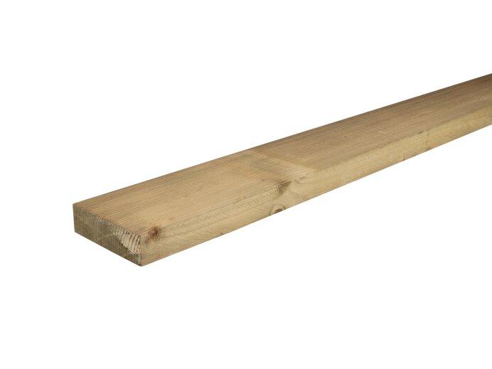 Vurenhout Verduurzaamde regels 32x100mm geschaafd aan 28x95mm