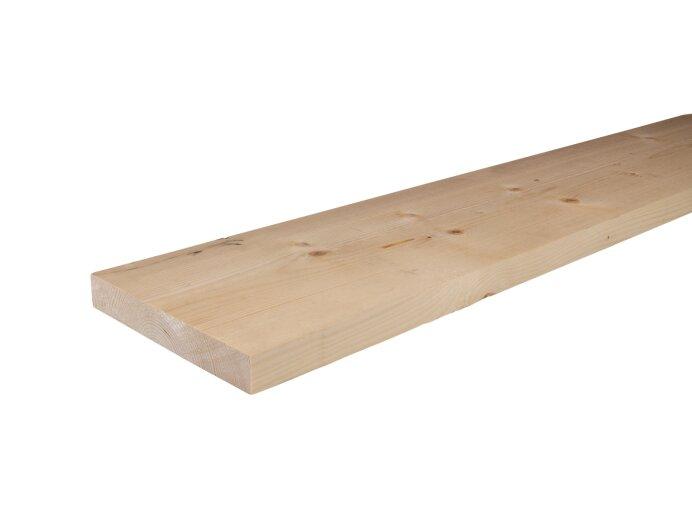 Planken Vurenhout 32x200mm geschaafd aan 28x195mm