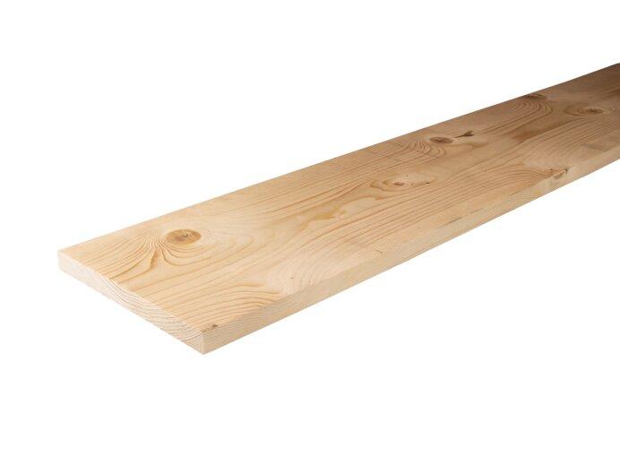 Planken Vurenhout 22x200mm geschaafd aan 18x195mm