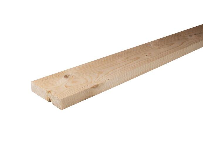 Vurenhout planken 32x125mm geschaafd aan 28x120mm