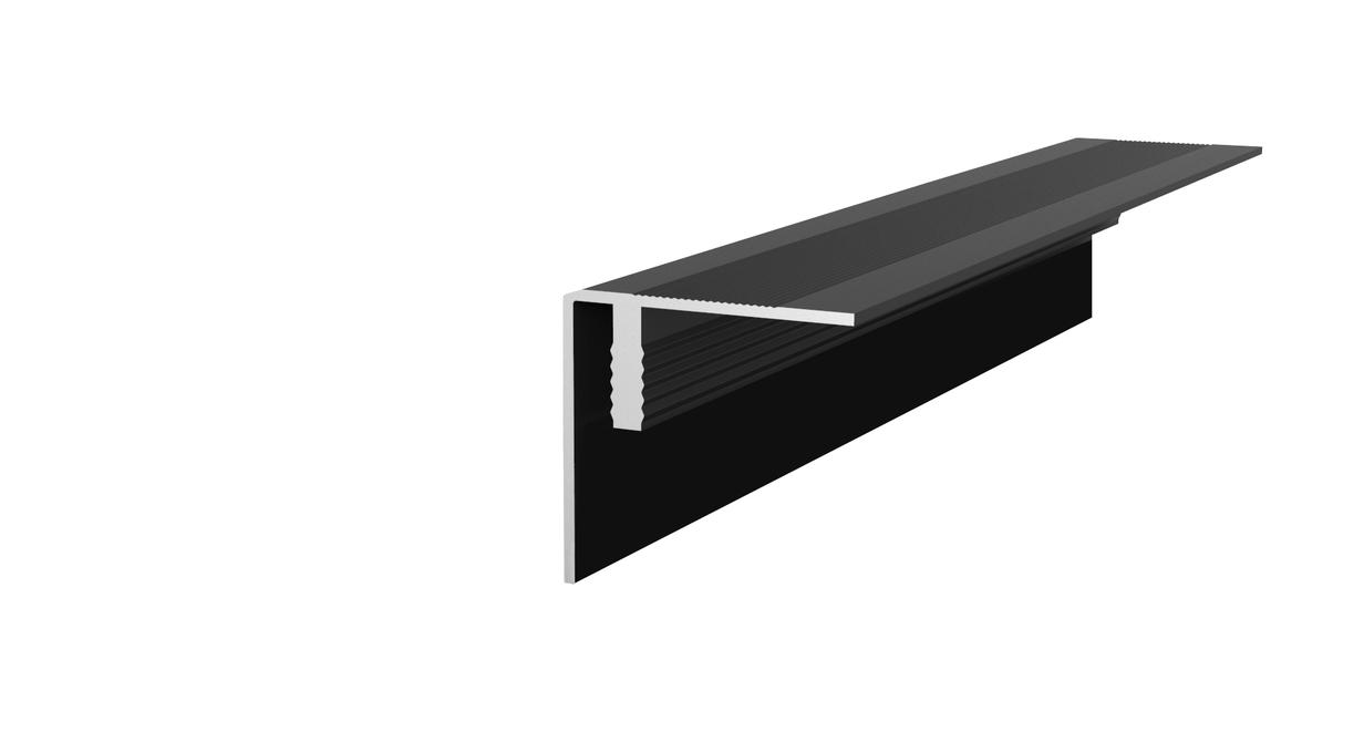 Aluminium hoekprofiel composiet vlonderplanken