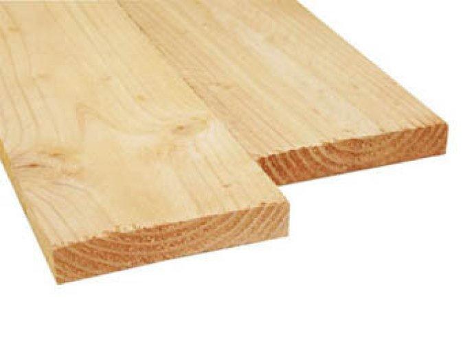 Douglas Hout Plank 32x200 mm Fijnbezaagd