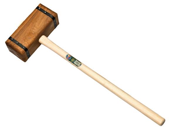 Zware houten hamer Sleg